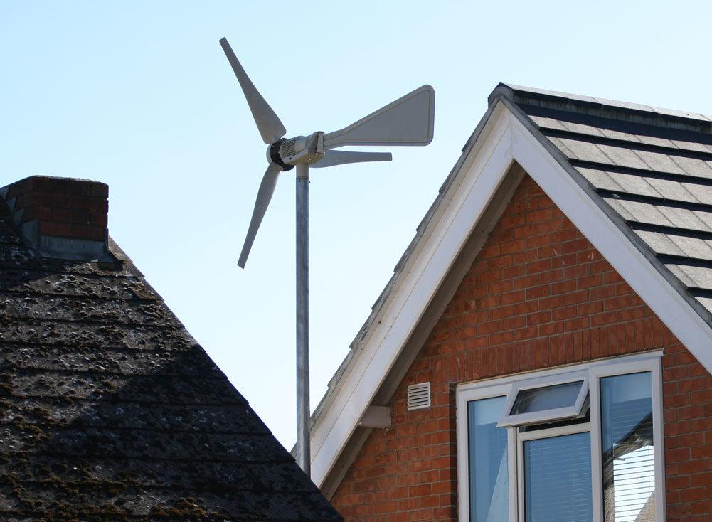 Home Wind Turbine and Electric Radiators