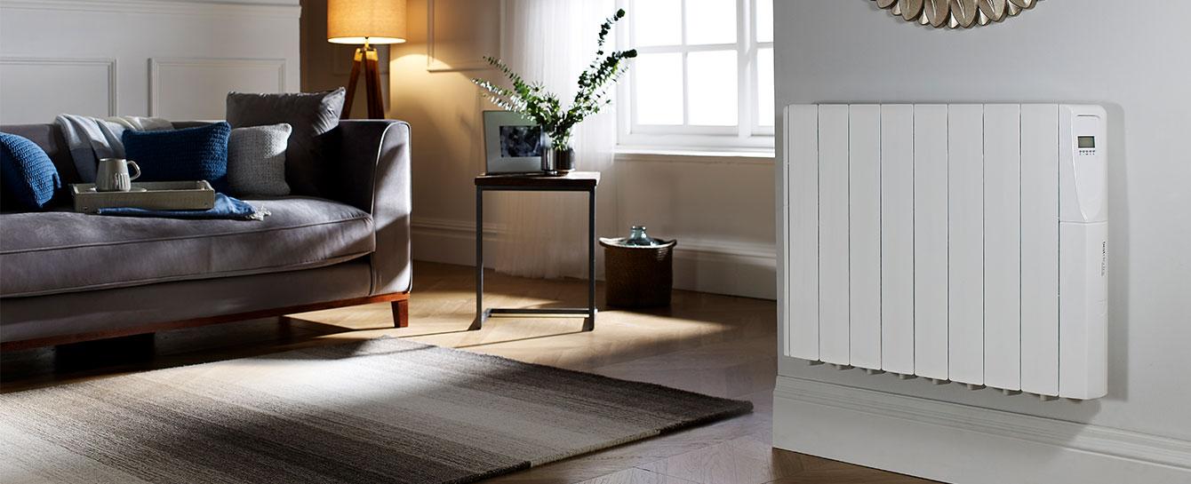 Comfort Control White Living Room