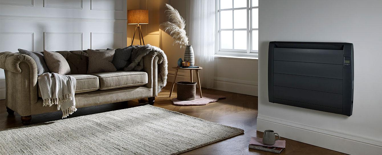 Slimline Digital Anthracite Living Room