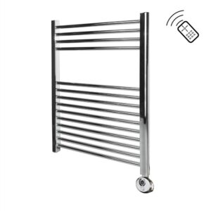 Classic Chrome Remote Control Towel Rail 750 x 600
