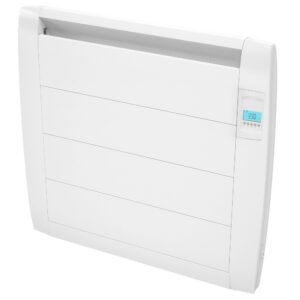 Slimline Digital 900w White Electric Radiator