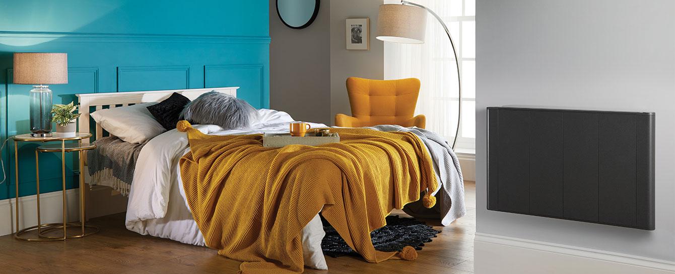Slimline Curve Wifi Anthracite Bedroom