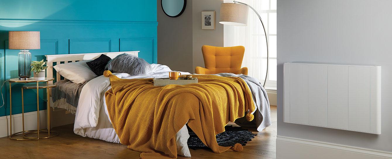 Slimline Curve Wifi White Bedroom