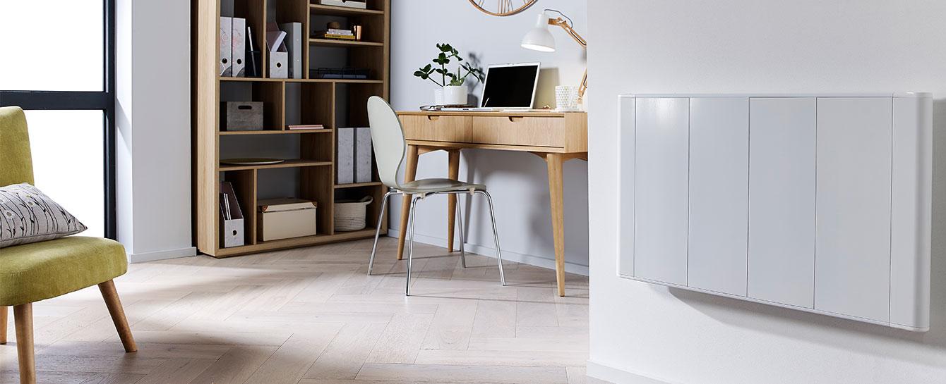 Slimline Curve Wifi White Office