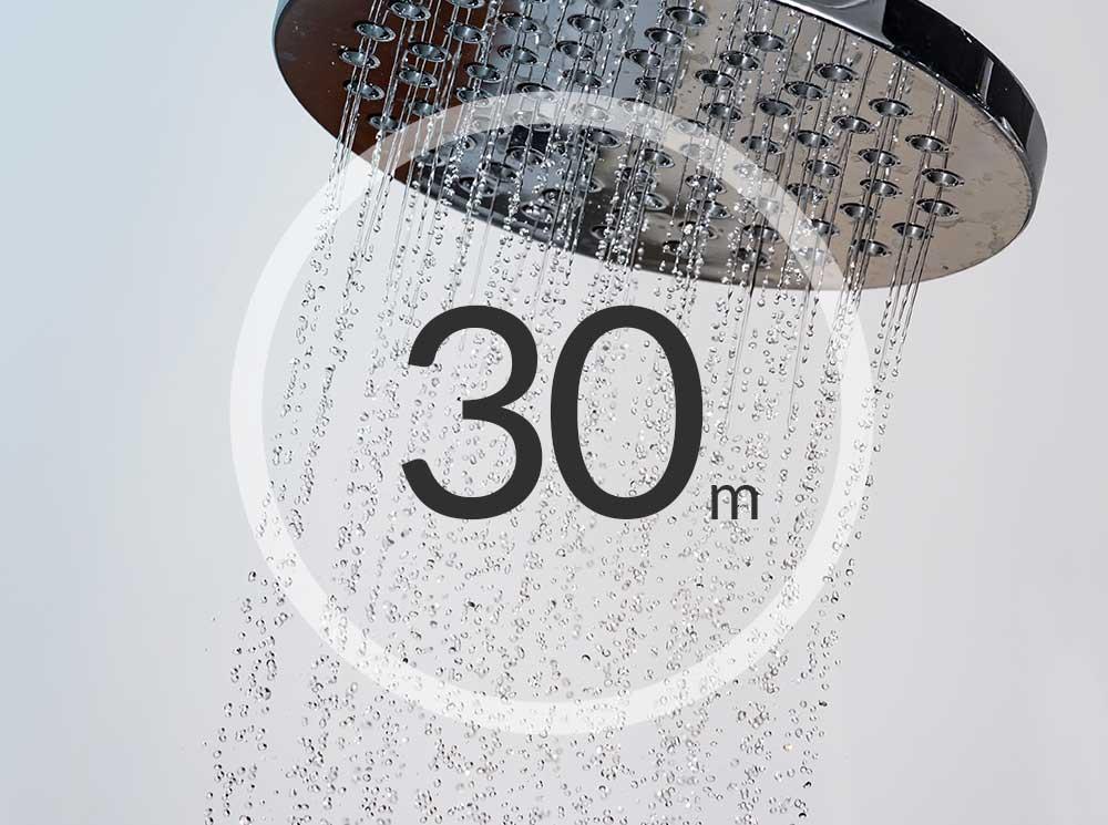 Shower Reading in 30 mins