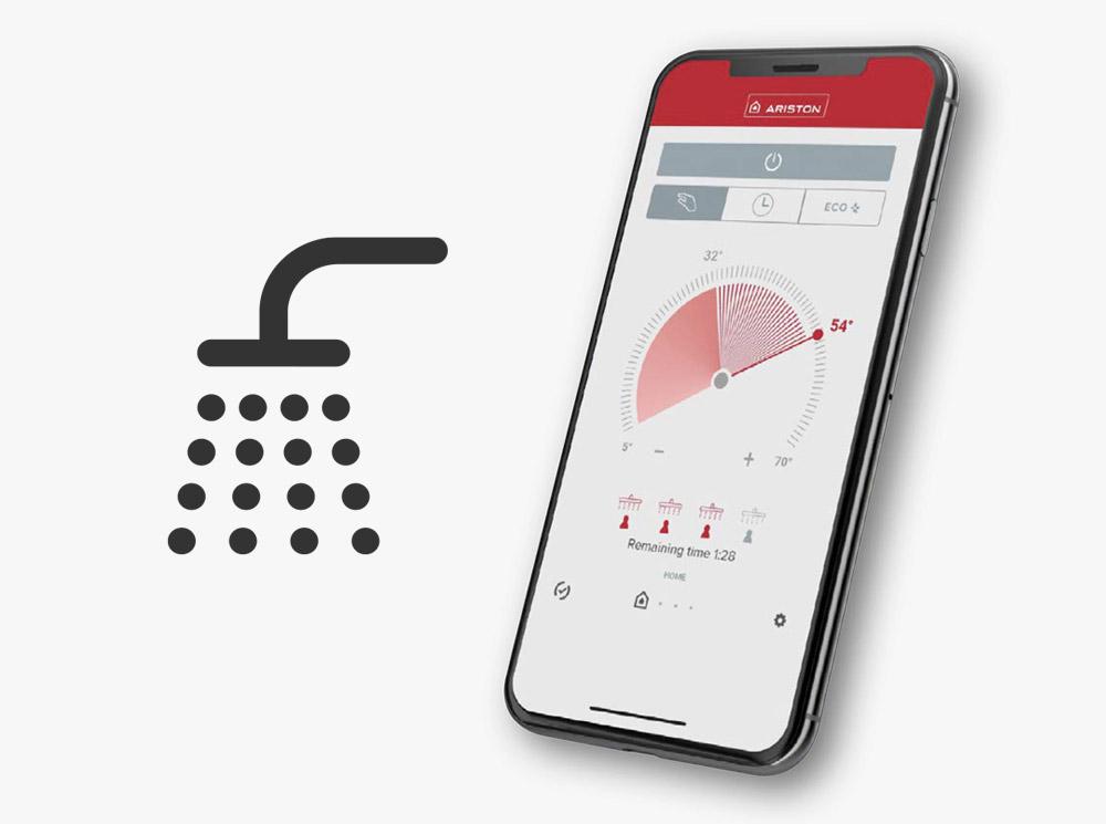 Shower Ready Alerts in App